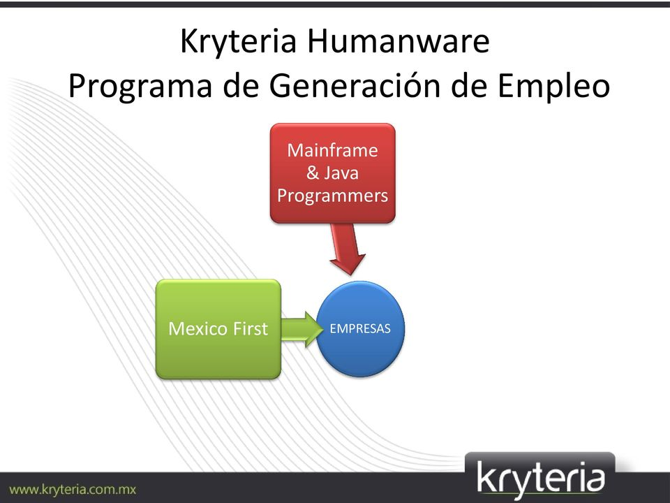 Empleo Mainframe & Java