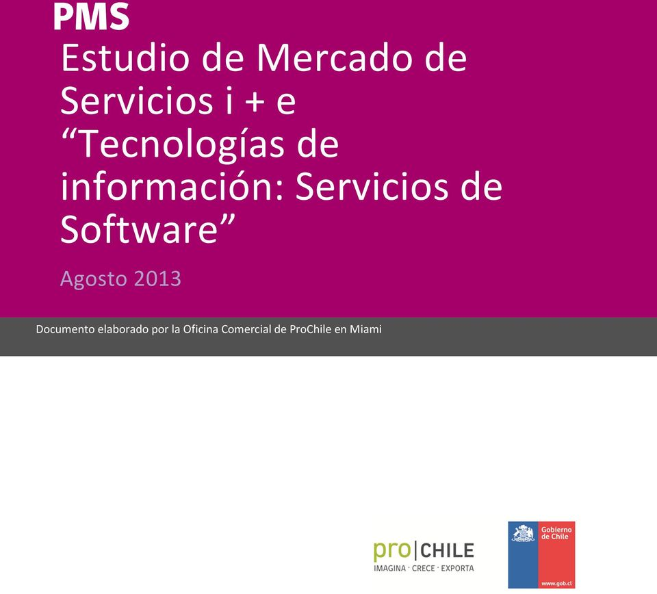 Software Agosto 2013 Documento elaborado por