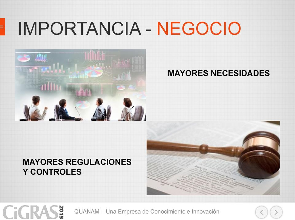 REGULACIONES Y CONTROLES