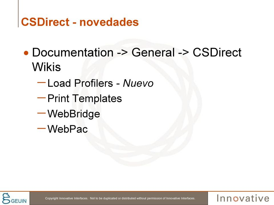CSDirect Wikis Load Profilers