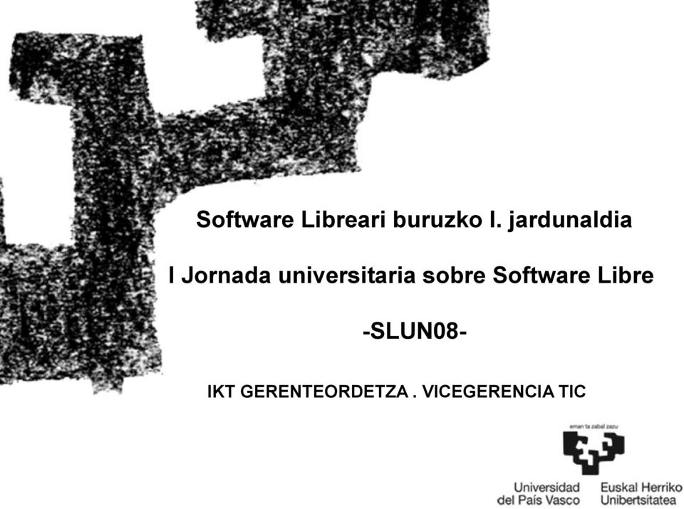universitaria sobre Software