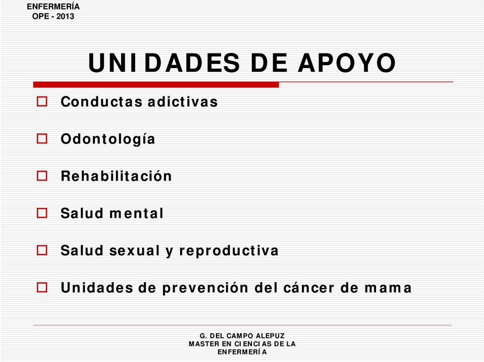 Salud mental Salud sexual y