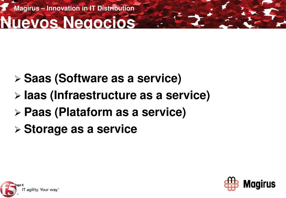 service) Iaas (Infraestructure as a