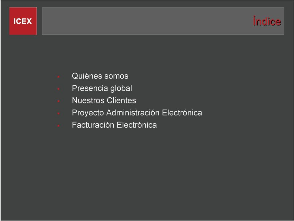 Clientes Proyecto