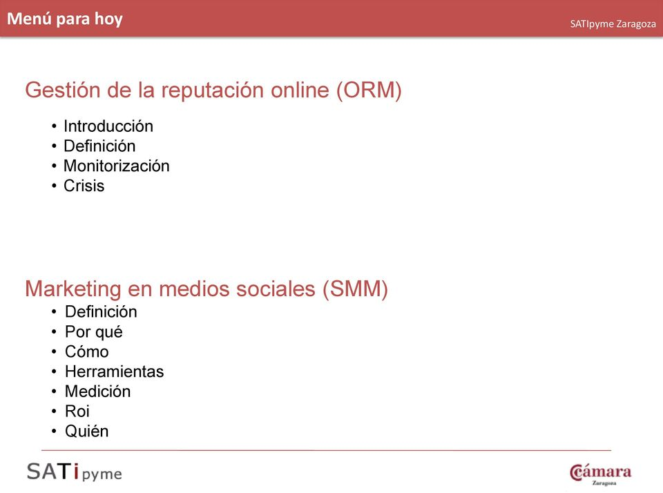 Crisis Marketing en medios sociales (SMM)