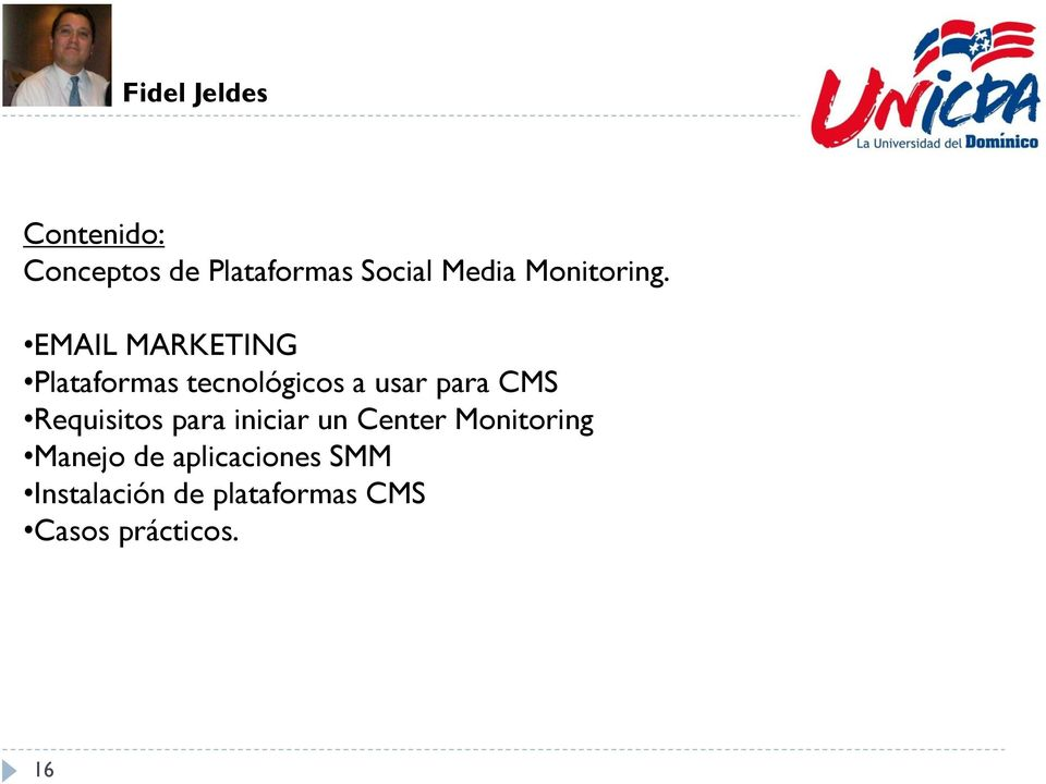EMAIL MARKETING Plataformas tecnológicos a usar para CMS