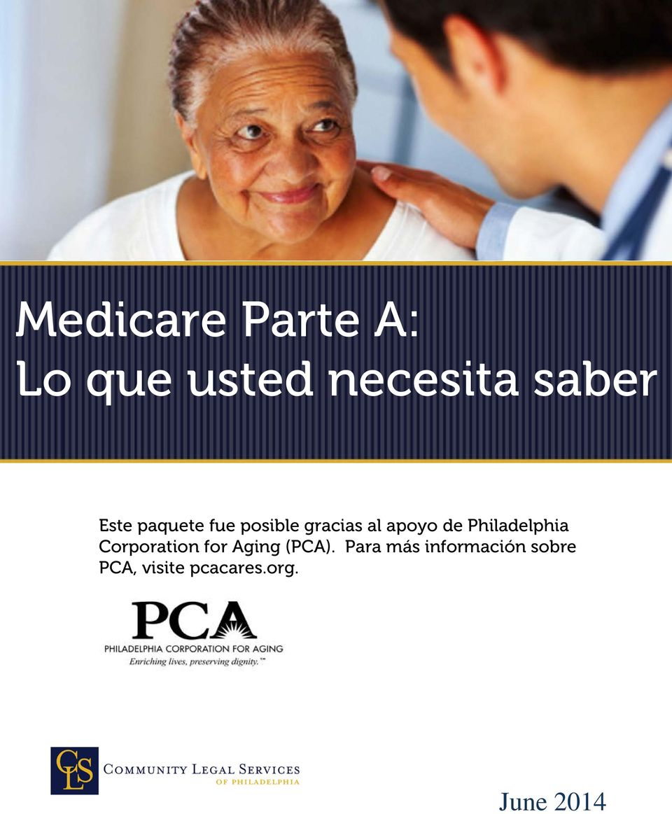Philadelphia Corporation for Aging (PCA).