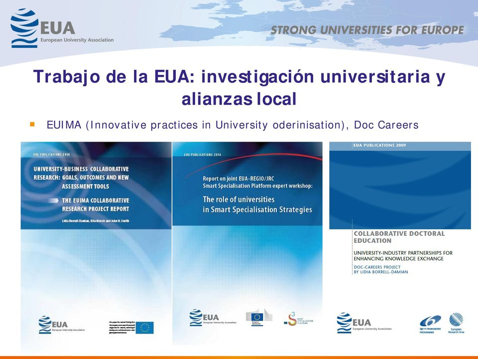 EUIMA (Innovative practices in
