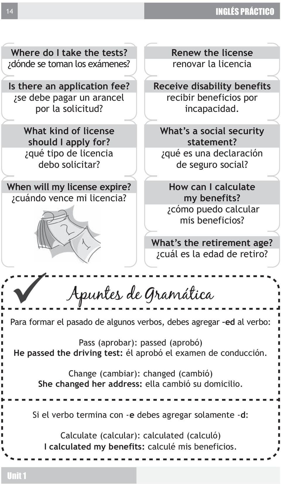 What s a social security statement? qué es una declaración de seguro social? How can I calculate my benefits? cómo puedo calcular mis beneficios? What s the retirement age? cuál es la edad de retiro?