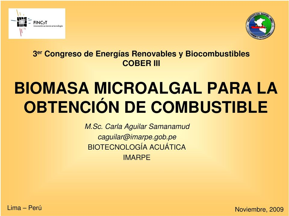 COMBUSTIBLE M.Sc.