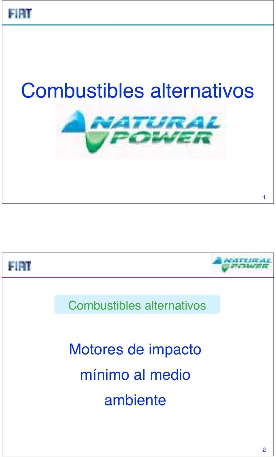 alternativos Motores de