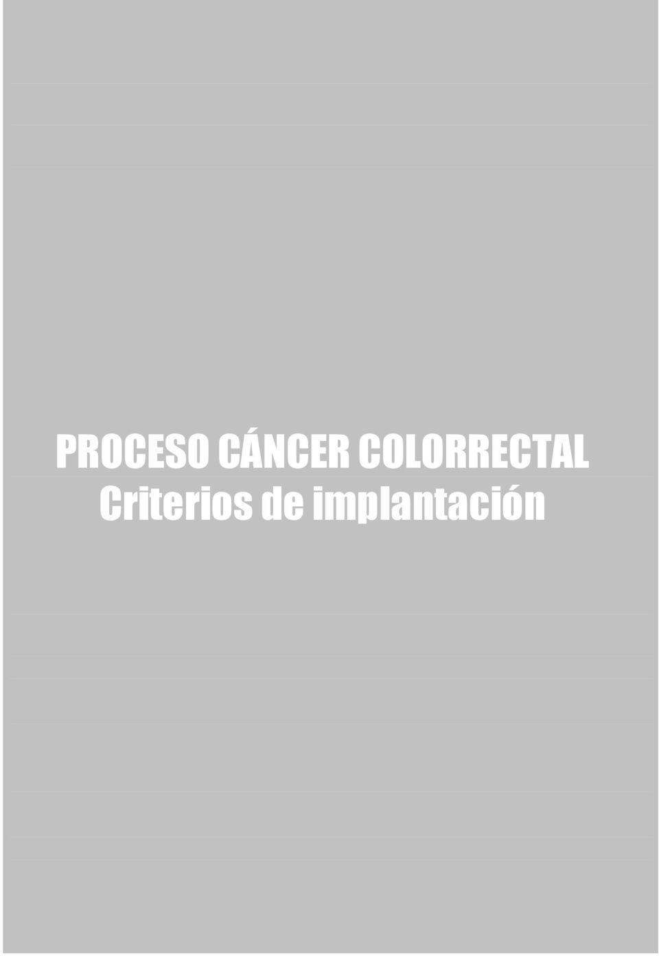 COLORRECTAL