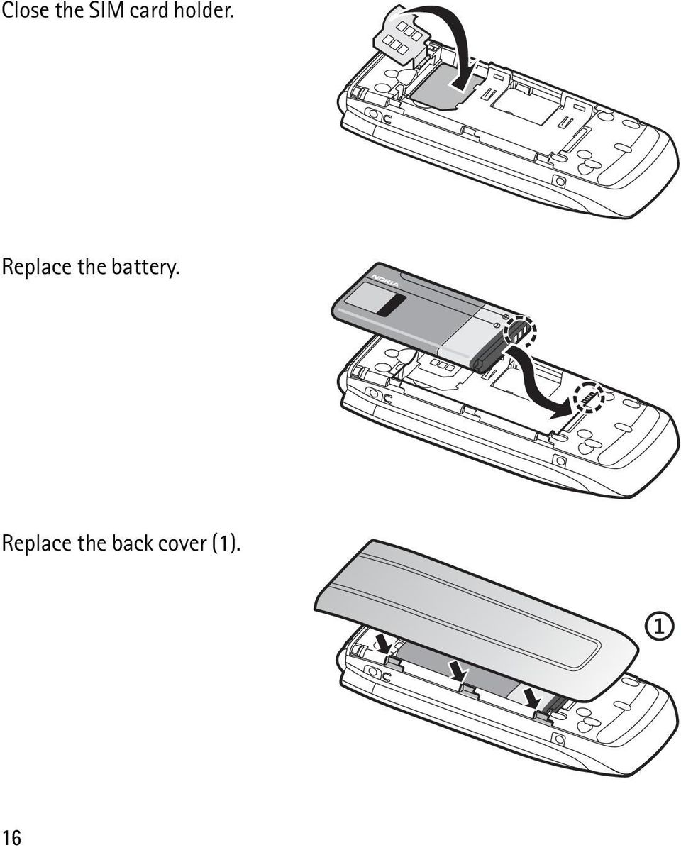 Replace the battery.