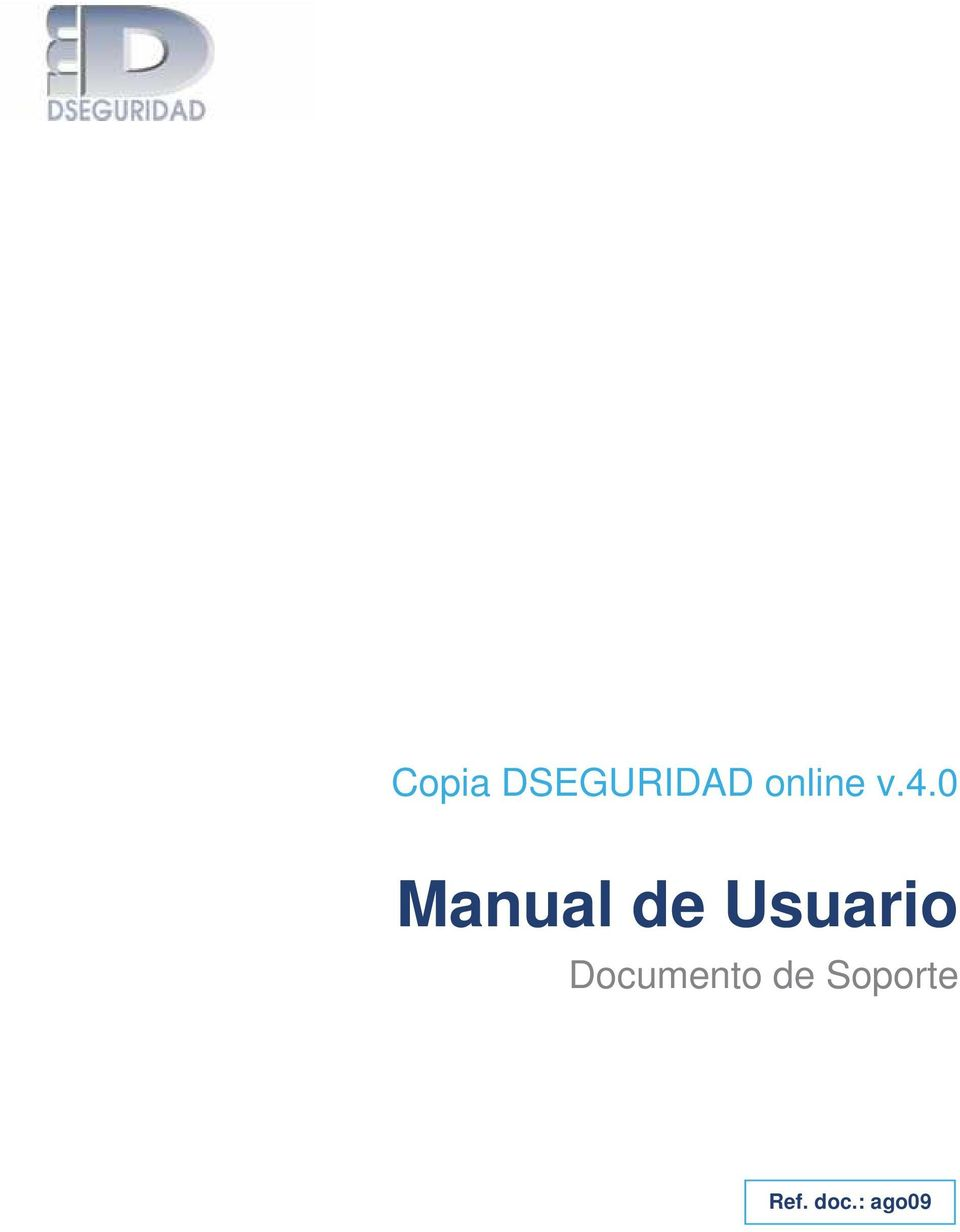 0 Manual de Usuario