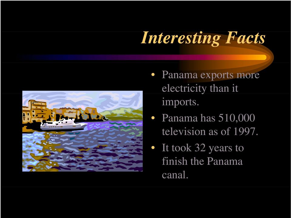 Panama has 510,000 television as of