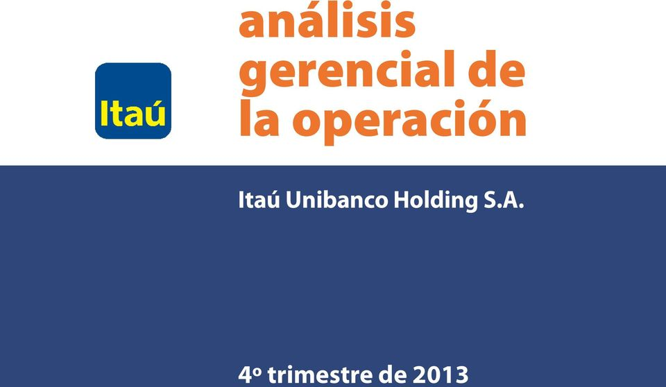 Unibanco Holding S.A.