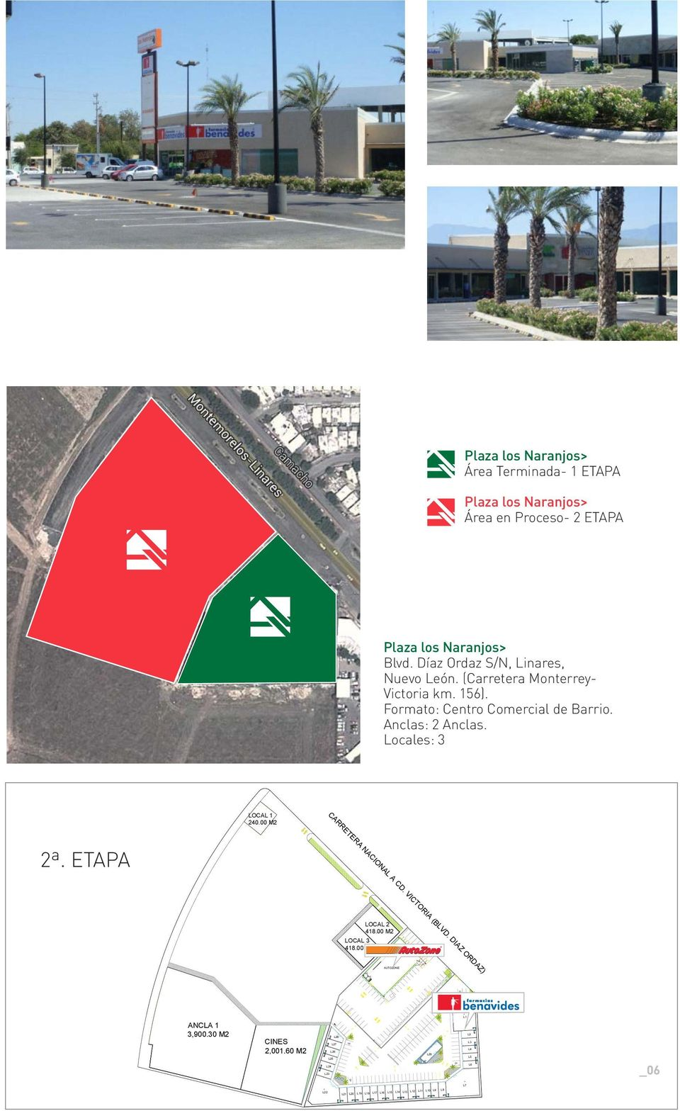 VICTORIA (BLVD. DIAZ ORDAZ) 2ª. ETAPA PRODUCED BY AN AUTODESK EDUCATIONAL PRODUCT LOCAL 3 418.00 M2 LOCAL 2 418.