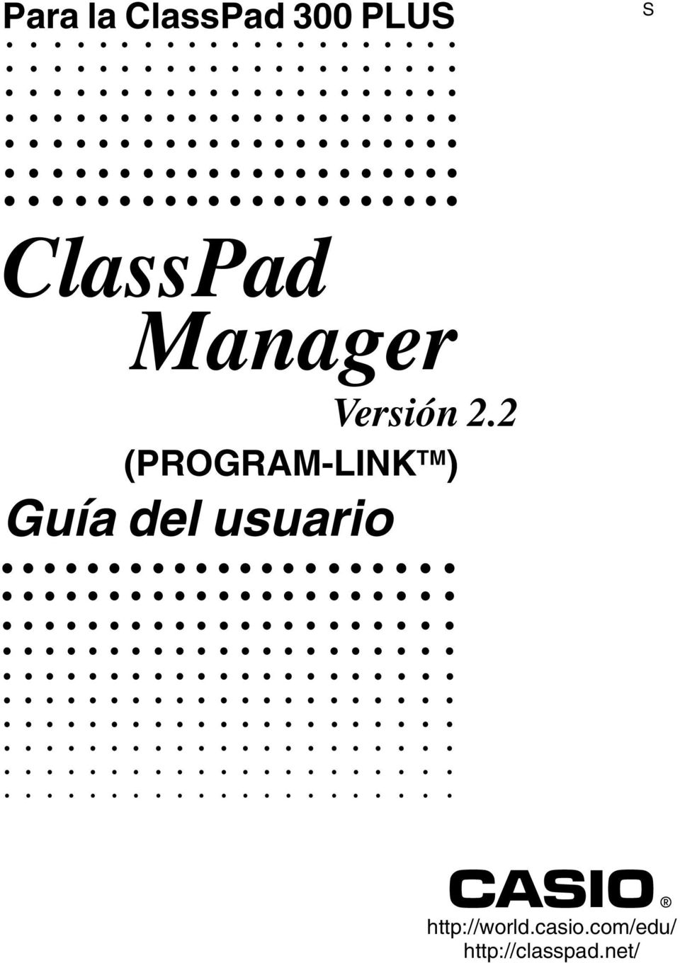 2 (PROGRAM-LINK TM ) Guía del usuario