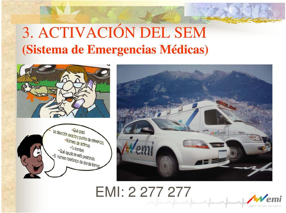 de Emergencias