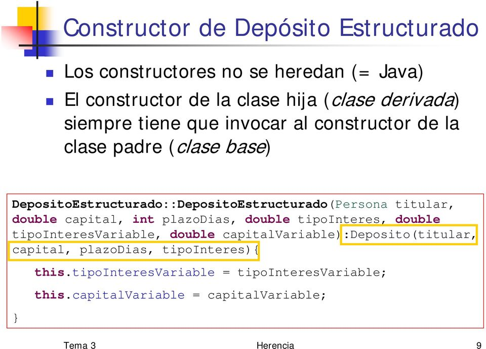 titular, double capital, int plazodias, double tipointeres, double tipointeresvariable, double capitalvariable):deposito(titular,