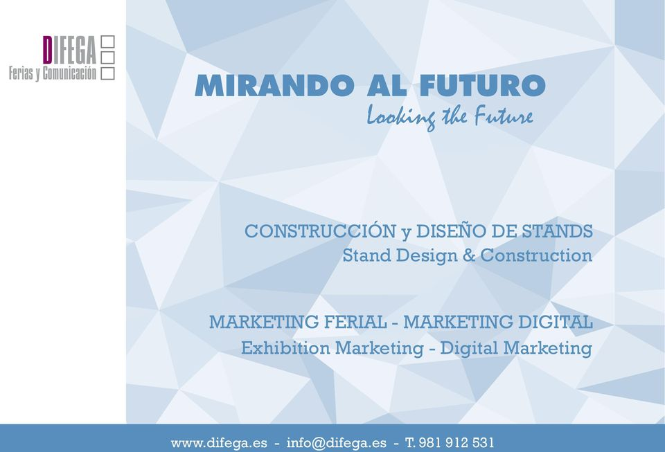 Design & Construction MARKETING FERIAL -