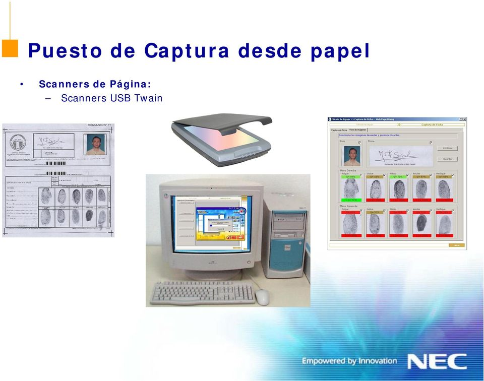 papel Scanners