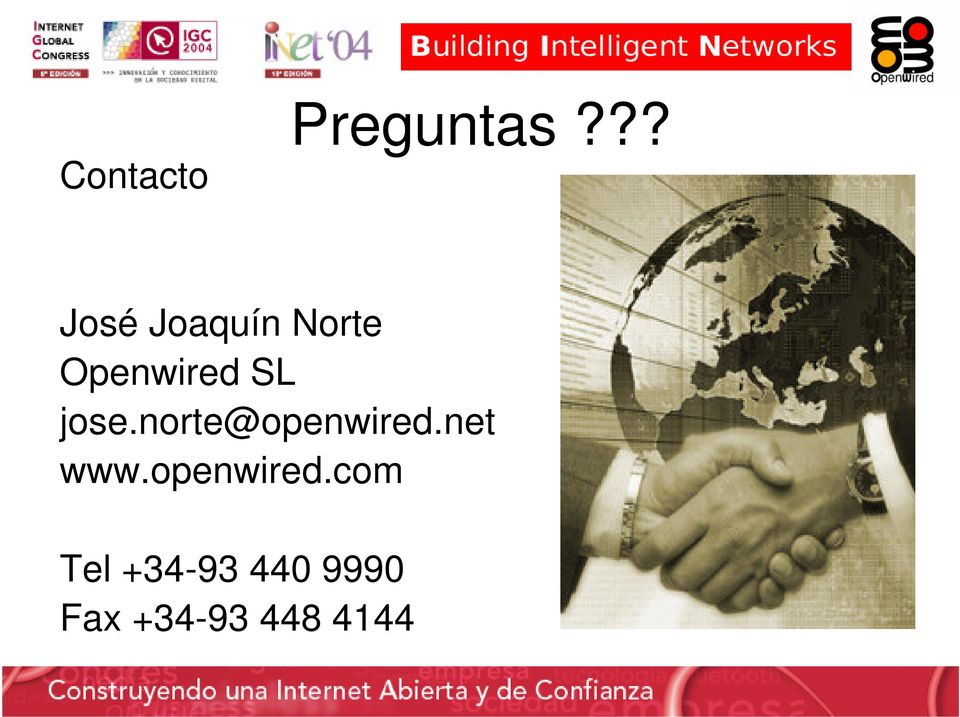 SL jose.norte@openwired.net www.