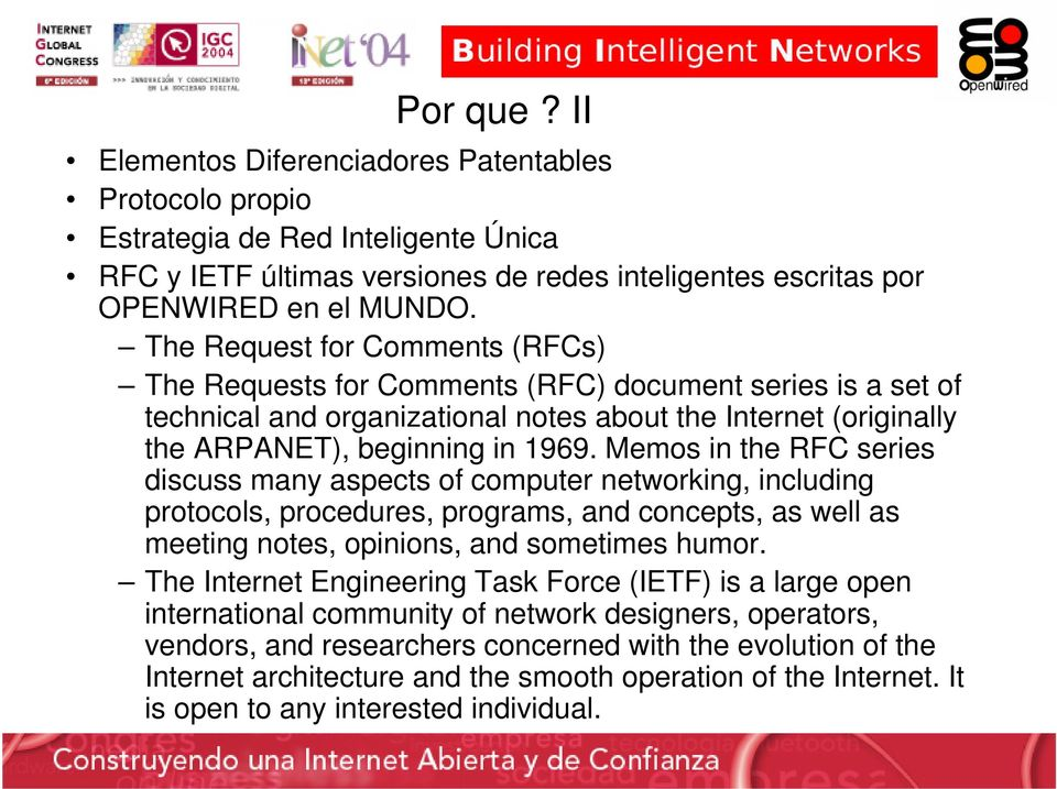 Memos in the RFC series discuss many aspects of computer networking, including protocols, procedures, programs, and concepts, as well as meeting notes, opinions, and sometimes humor.