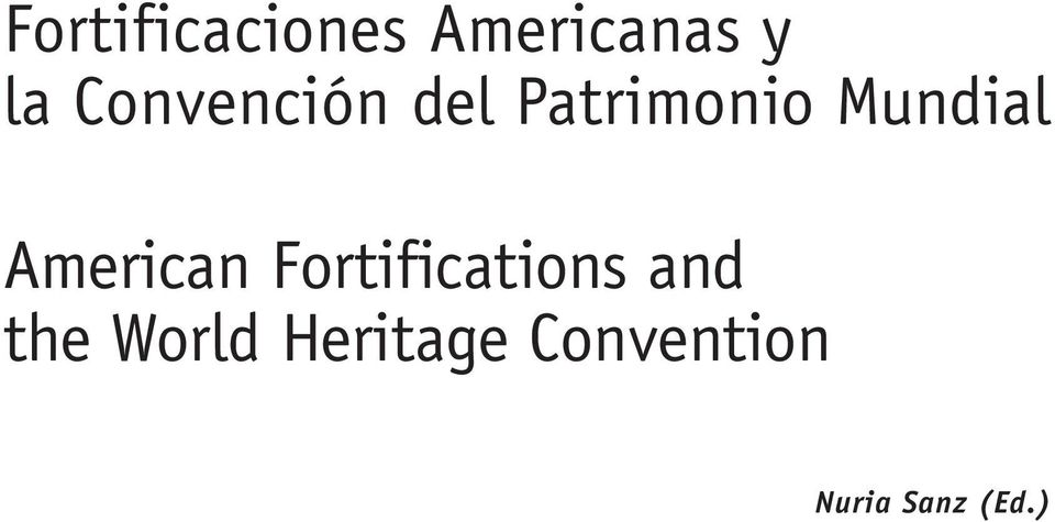 American Fortifications and the