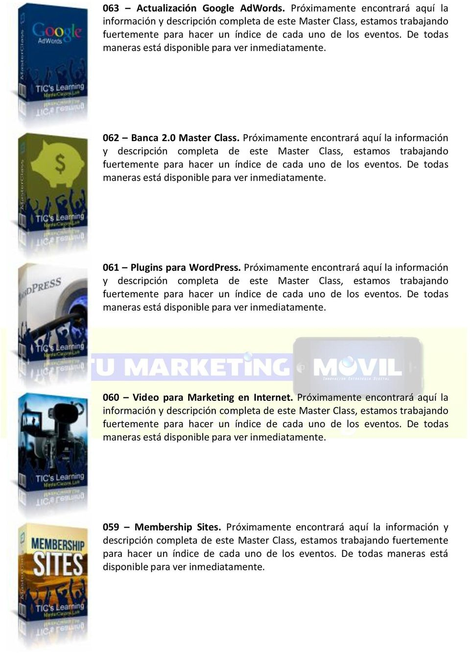 Plugins para WordPress.