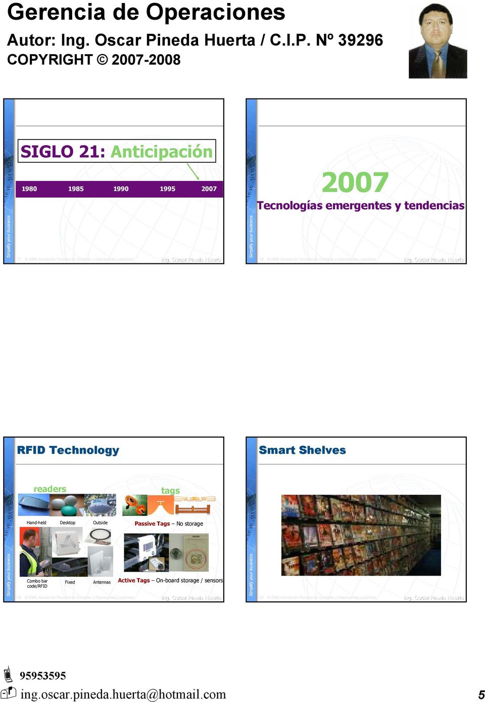 emergentes y tendencias 17 18 RFID Technology Smart Shelves readers tags