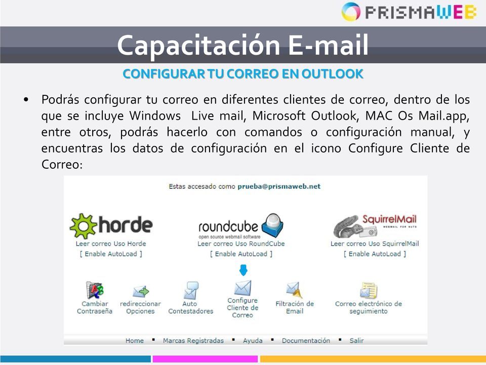Outlook, MAC Os Mail.
