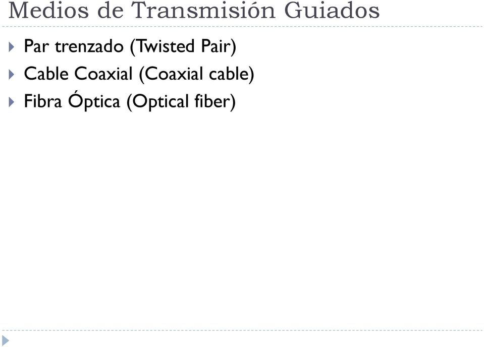 (Twisted Pair) Cable Coaxial
