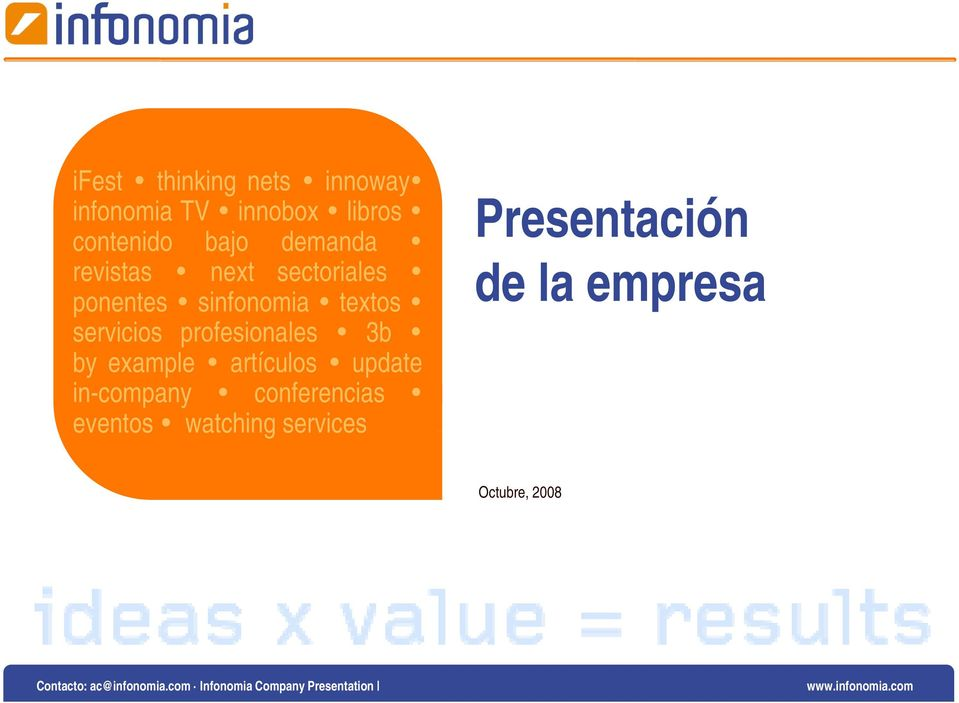 profesionales 3b by example artículos update in-company conferencias eventos