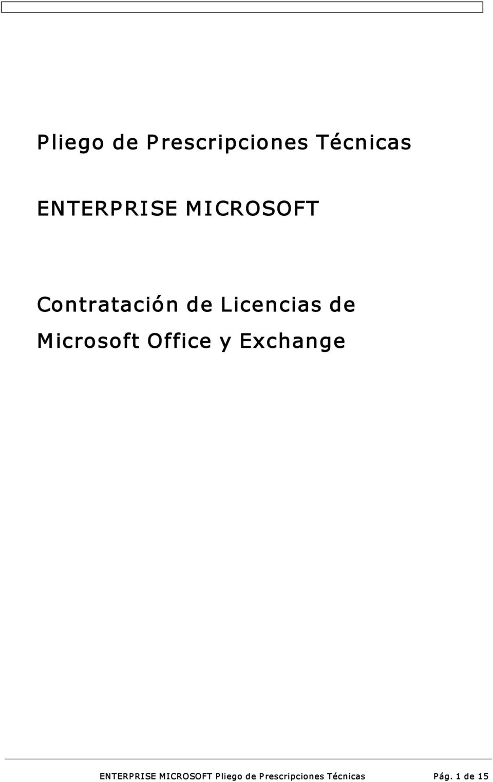 icrosoft Office y Exchange ENTERPRISE