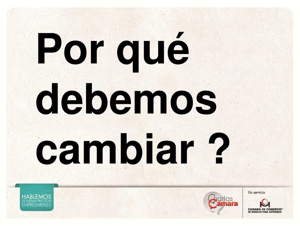 cambiar?