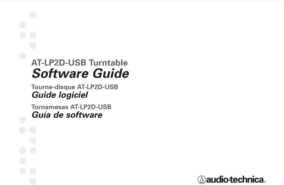 AT-LP2D-USB Guide logiciel