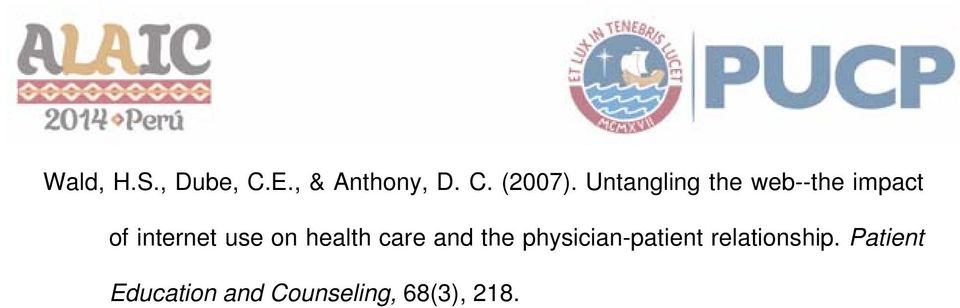 on health care and the physician-patient