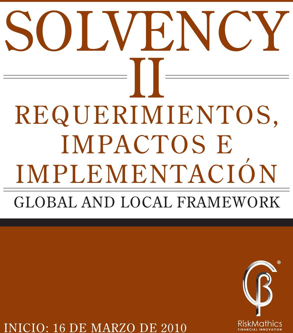 AND LOCAL FRAMEWORK INICIO: 16 DE