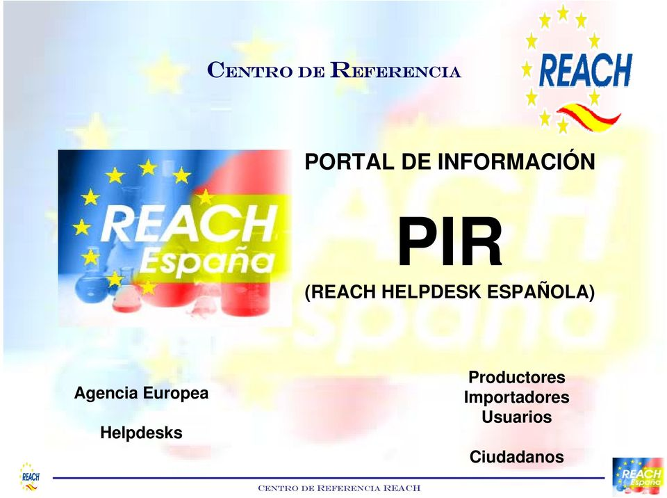 Europea Helpdesks Productores Importadores