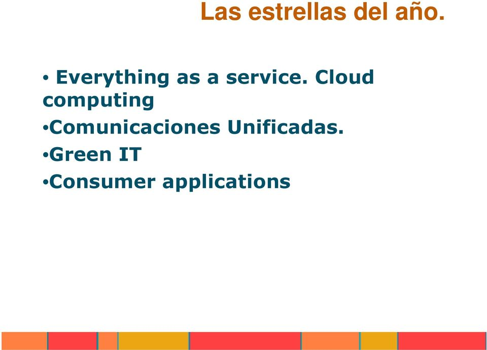 Cloud computing Comunicaciones