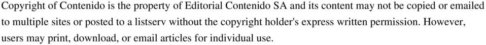 to a listserv without the copyright holder's express written