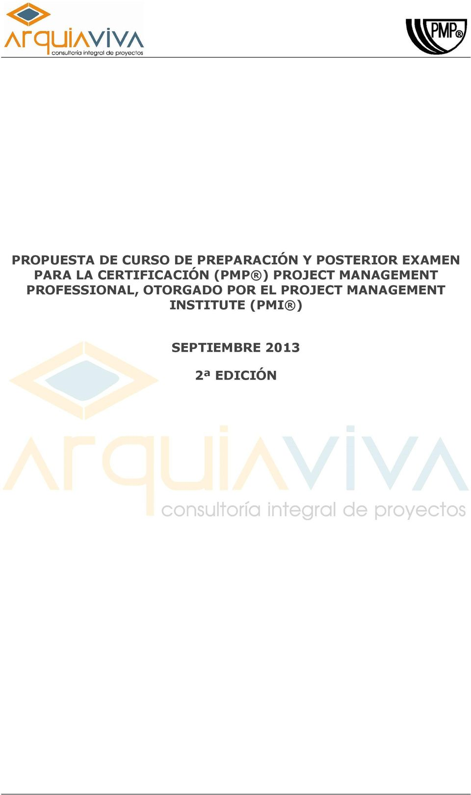 MANAGEMENT PROFESSIONAL, OTORGADO POR EL PROJECT
