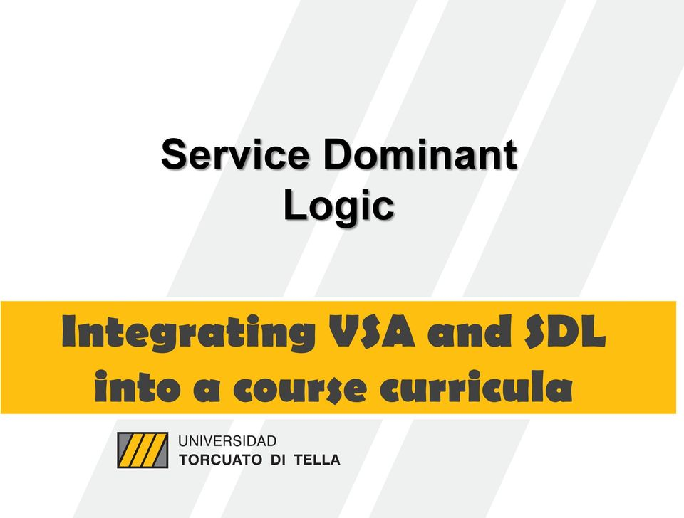 VSA and SDL into a