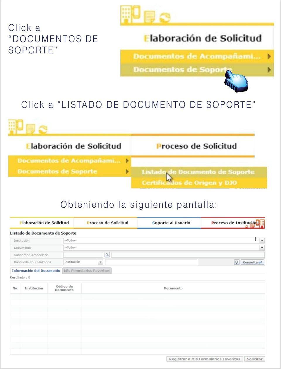 DE DOCUMENTO DE SOPORTE