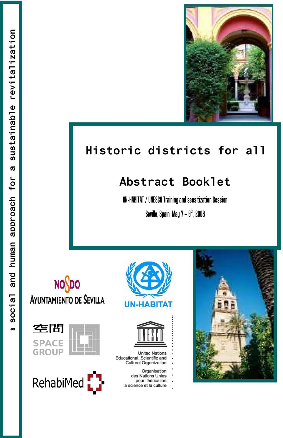 Abstract Booklet UN-HABITAT / UNESCO Training