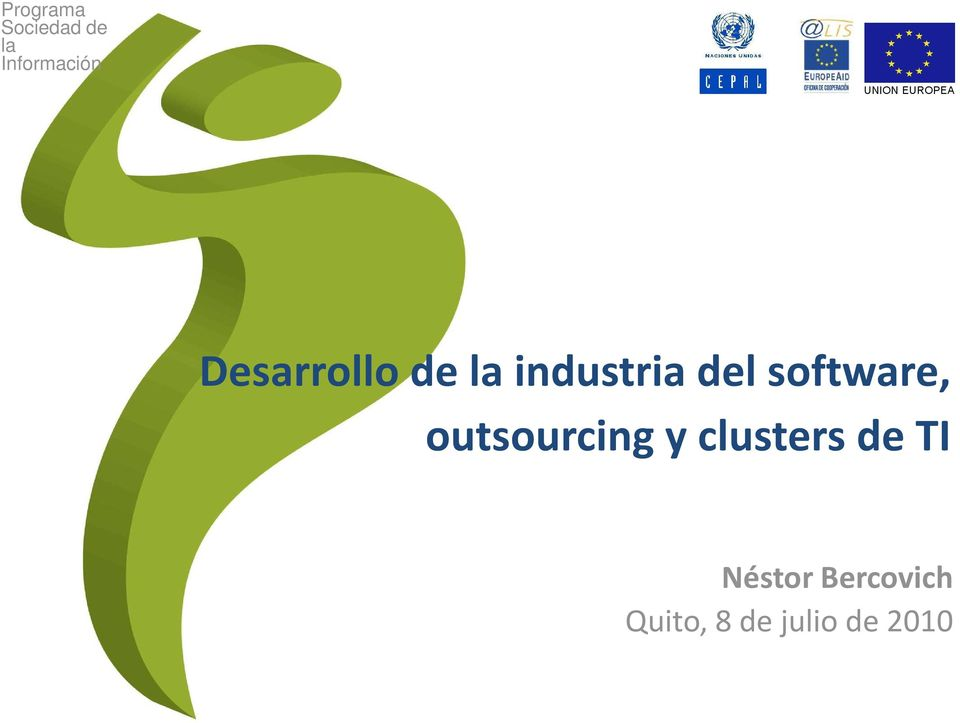 software, outsourcing y clusters de