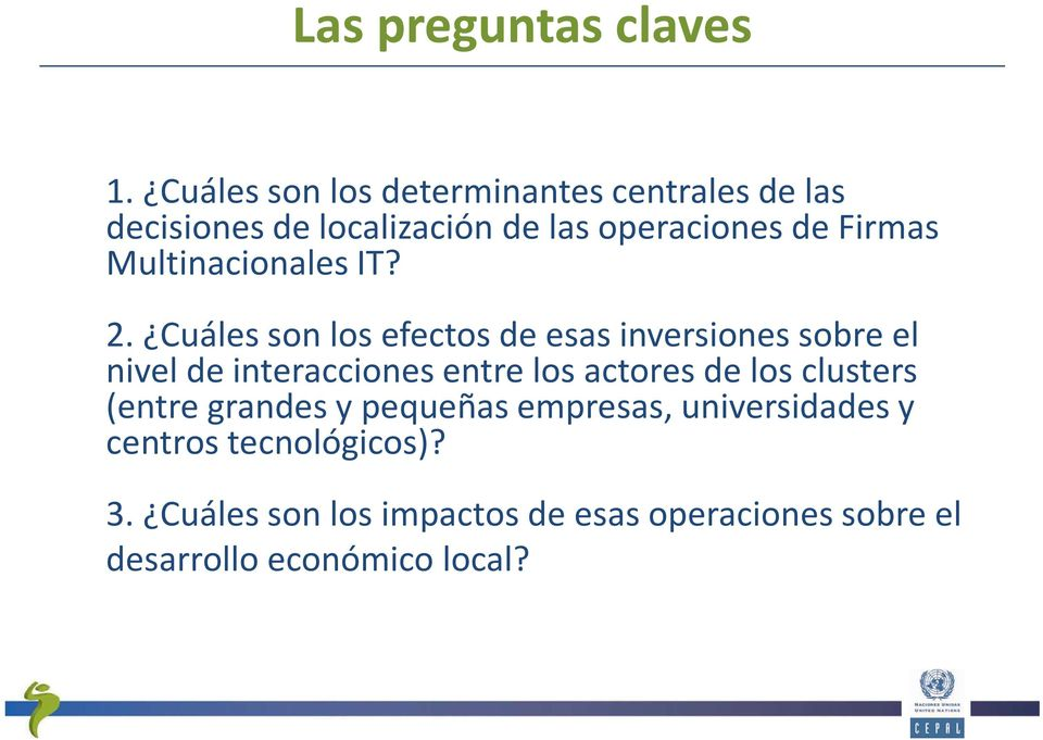 Multinacionales IT? 2.