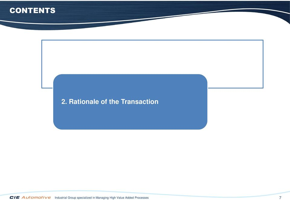Transaction Industrial