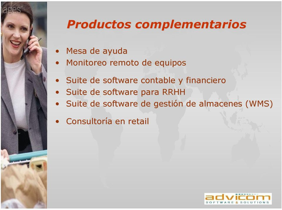 financiero Suite de software para RRHH Suite de